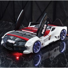 Police Racing Car Bed For Kids