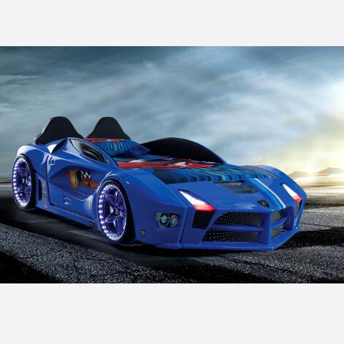 Race Car Bed Blue Design For Little Champs