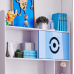 Kids Study Table and Chair with Bookshelf & Desk For Teens Living/ Bed Room,Blue