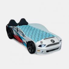 Children Racing Car Night Bed For Boys Girls