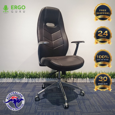 New HQ PU Leather High Back Boss Executive officer chair ergonomic Support
