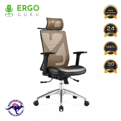 New Boss Executive office chair ergonomic Support and Cloth hanger modern design