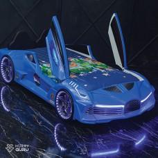 Luxury Race Car Bed Blue Design For Little Champs