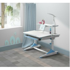 New kids Blue study desk with Adjustable Table height, Ergonomic designed for child