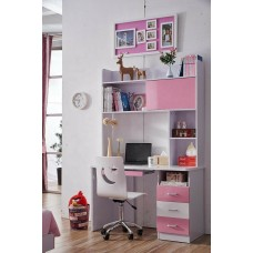 New Kids Study Table and Chair with Bookshelf & Desk For Teens Living Bed Room