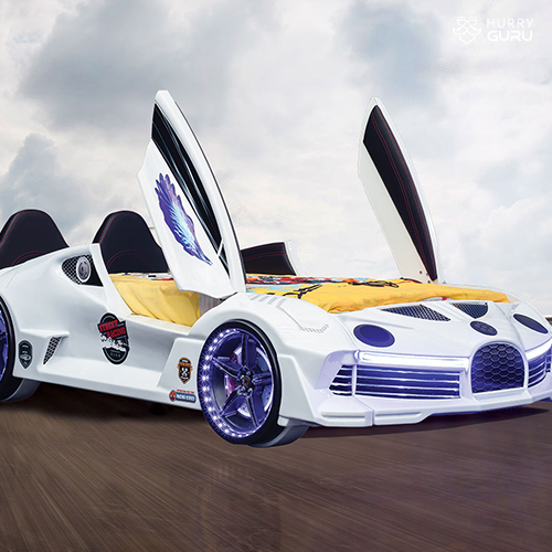 Luxury Race Car Bed Design For Little Champs